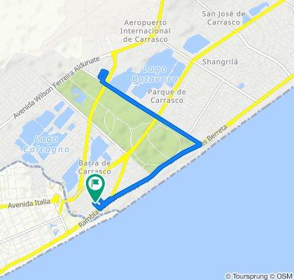 Ruta rápida en Ciudad de la Costa