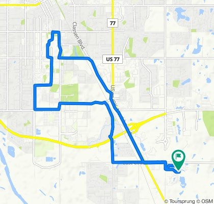 Moderate route in Norman