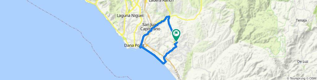 7 Calle Verdadero, San Clemente to 9 Calle Verdadero, San Clemente