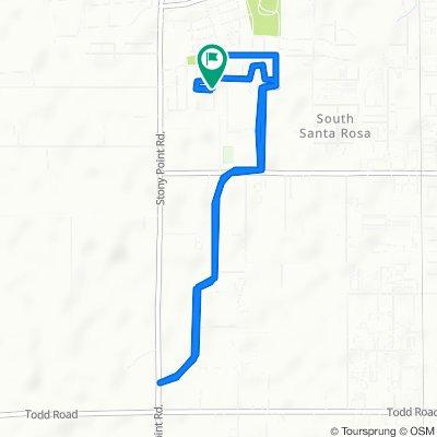Slow ride in Santa Rosa