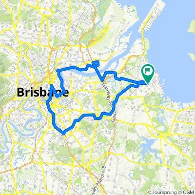 Manly West Brisbane loop