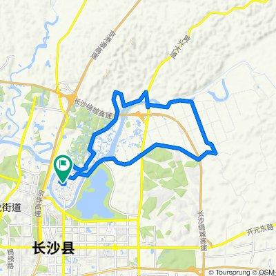 Steady ride in Changsha