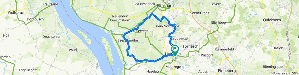 Langsame Fahrt in Uetersen