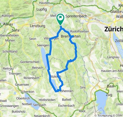 Rundtour Hallwilersee – Baldeggersee - Reusstal