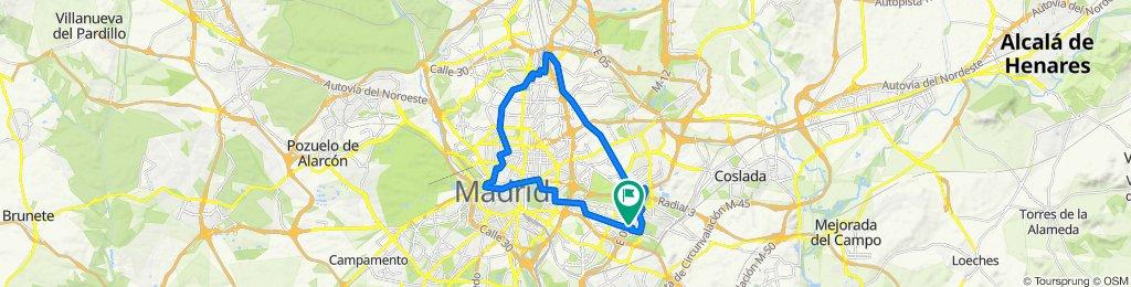 domingo por Madrid