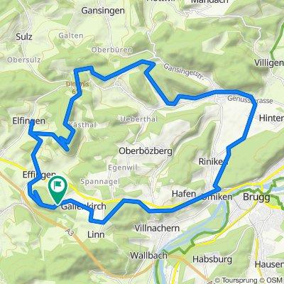 Sonntag-Schlechtwetter Tour 10.5.20