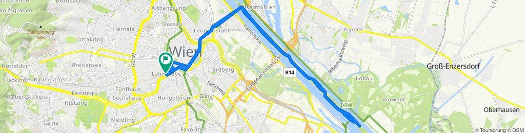 Laimgrubengasse 17, Vienna to Laimgrubengasse 15, Vienna
