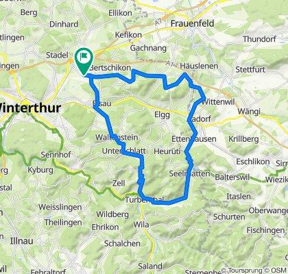 Hagenbuch - Bichelsee - Girenbad