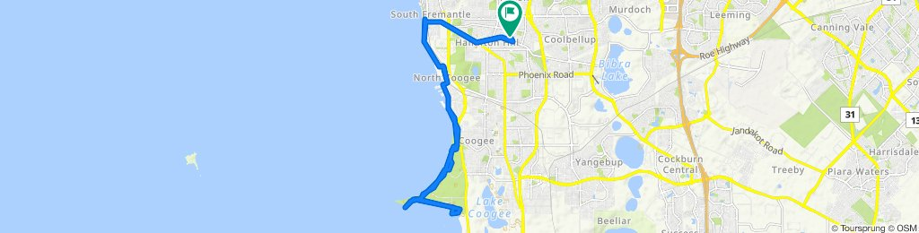 Moderate route in Hamilton Hill