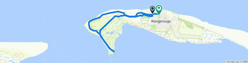 Gemütliche Route in Wangerooge