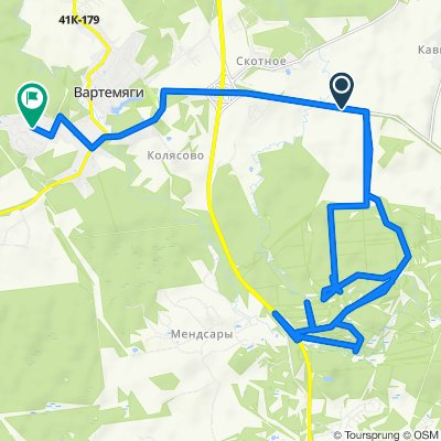 Неторопливый маршрут в Агалатовское