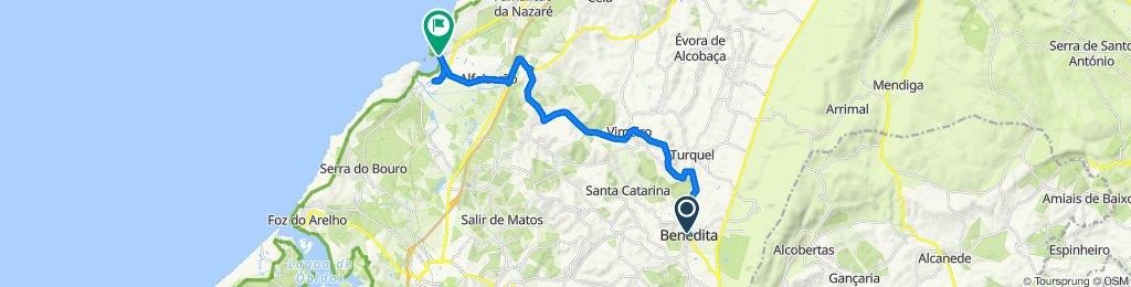 Fast ride in Alcobaça
