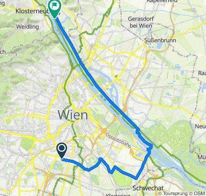 Entspannende Route in Klosterneuburg