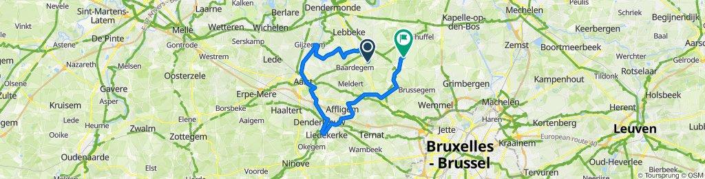 Opwijk-Aalst-Liedekerke- Asse-merchtem