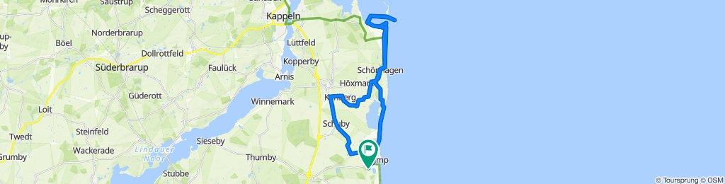 Gemütliche Route in Damp