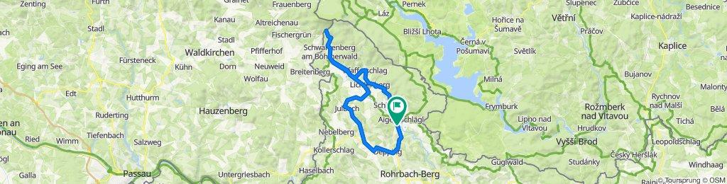 Schlägler Hauptstraße 9 nach Krenbrücke 2, Schlägl
