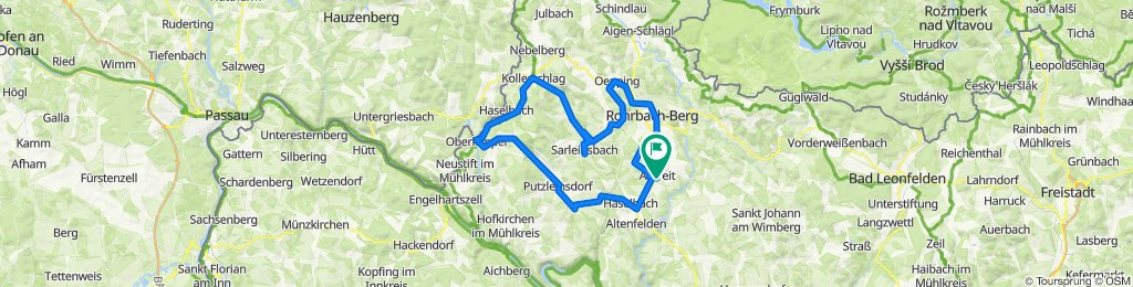 Arnreit 20 nach Rohrbacher Straße