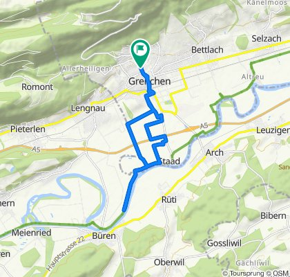 Entspannende Route in Grenchen