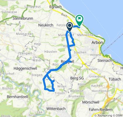 A1.1, Roggwil (TG) to Buchhorn 47, Arbon