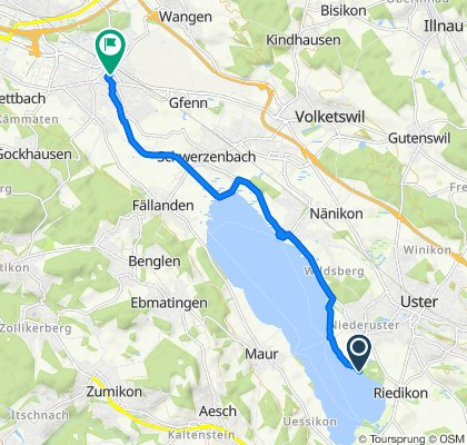 Langsame Fahrt in Dübendorf