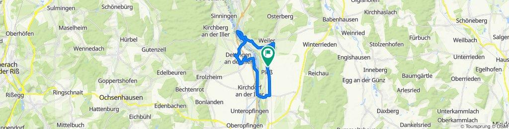 Moderate Route in Pleß