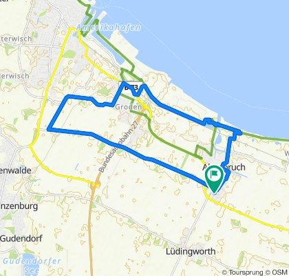 Entspannende Route in Cuxhaven