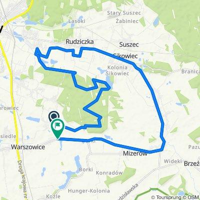 Spokojna trasa do Warszowice