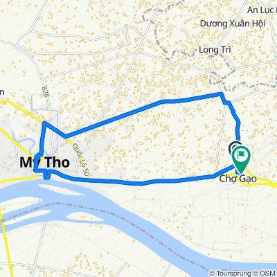 Steady ride in H. Chợ Gạo