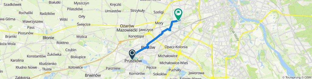 Łatwa trasa w Warszawa