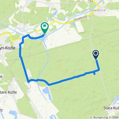 Spokojna trasa w Kędzierzyn-Koźle
