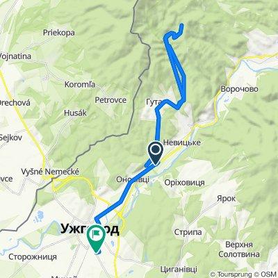Расслабленный маршрут в Ужгород