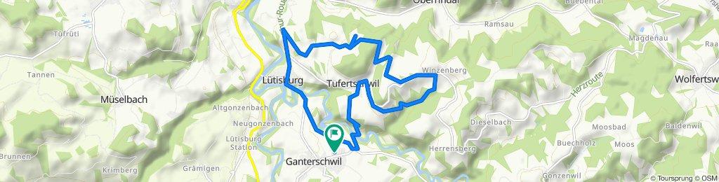 Ganterschwil, Lütisburg, Windrädli-, Comic-Weg, Weidli,Ganterschwil