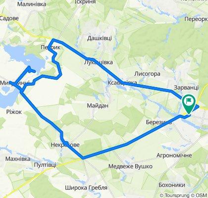 Вінниця-Микулинці-Петрик-Вінниця