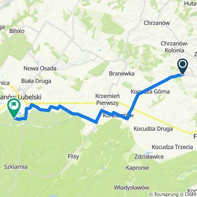 Unnamed Road to Turystyczna 8, Janów Lubelski