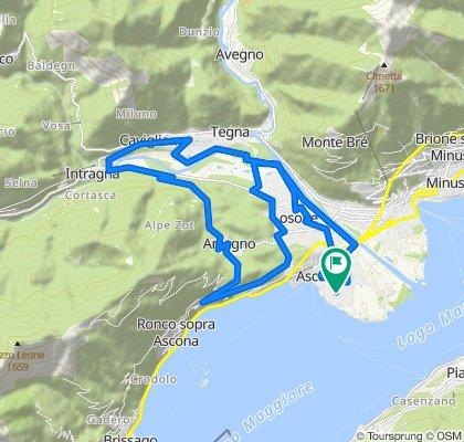 Einfache Fahrt in Ascona