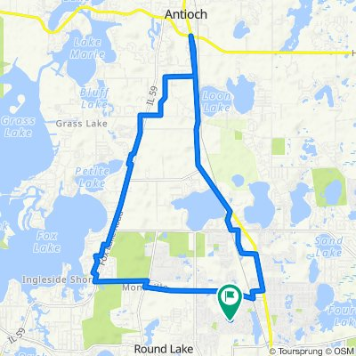 Long Route 6.6 miles