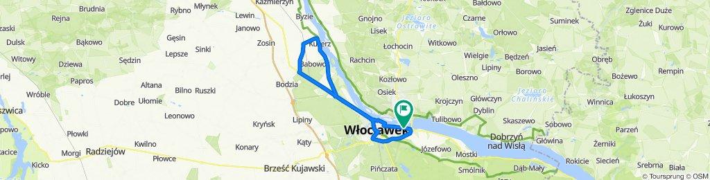Trasa Włocławek - Lubanie / 2020.05.10
