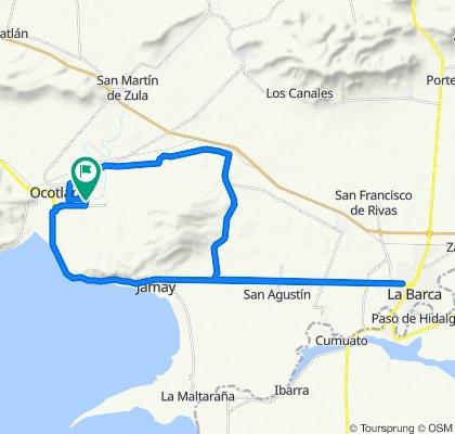 De Volcan Popocatepetl 11, Ocotlán a Volcan Iztaccihuatl 12, Ocotlán