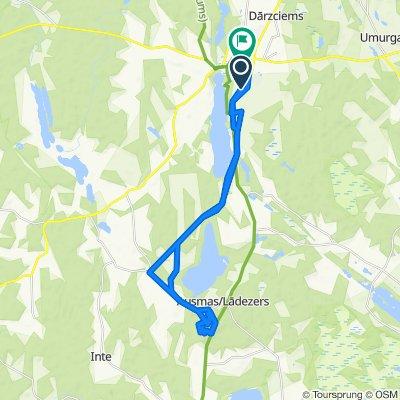 Легкий маршрут в Limbaži