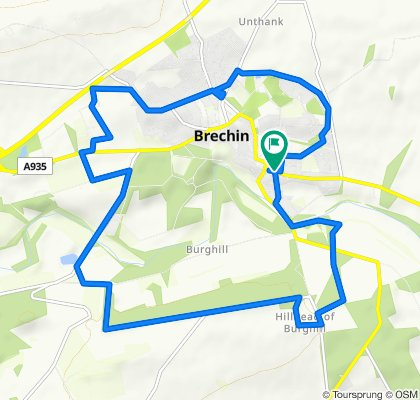 Slow ride in Brechin