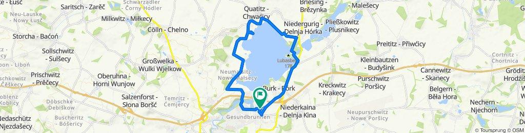 Einfache Fahrt in Bautzen