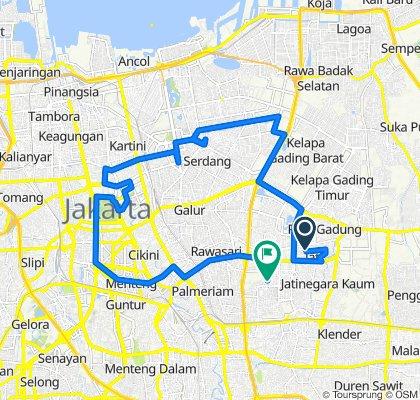 Slow ride in Pulo Gadung (MRPA)