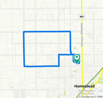 182 NW 17th St, Homestead to 182 NW 17th St, Homestead