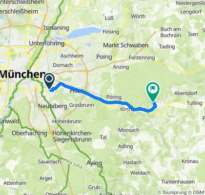 Karl-Marx-Ring 14, München nach Egglsee 8A, Ebersberg