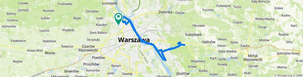 Bajana 9, Warszawa do Bajana 9, Warszawa