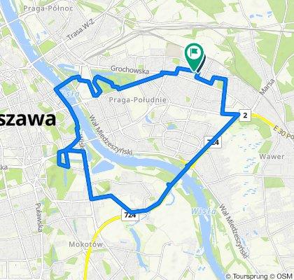Zrelaksowana trasa w Warszawa