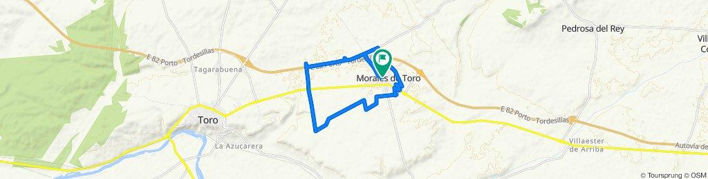 Ruta moderada en Morales de Toro