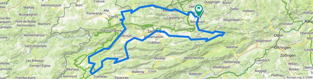 Jura Brevet 150 Km