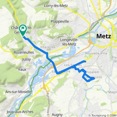 Itinéraire reposant en Châtel-Saint-Germain