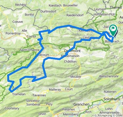 Jura Brevet 130 Km